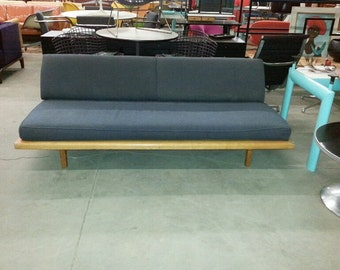 MEL BOGART, Daybed Designed by Mel Bogart for FELMORE, 1950s Adjustable Sofa To Daybed, Mel Bogart, Mid Century Modern Low Slung Sofa Modern