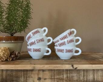 Vintage Espresso Cup Set / Demittase Cup Set / Vintage Coffee Mug Set / Coffee Cup Set / Eapresso Mugs / Vintage Coffee Cups / Demitasse Cup