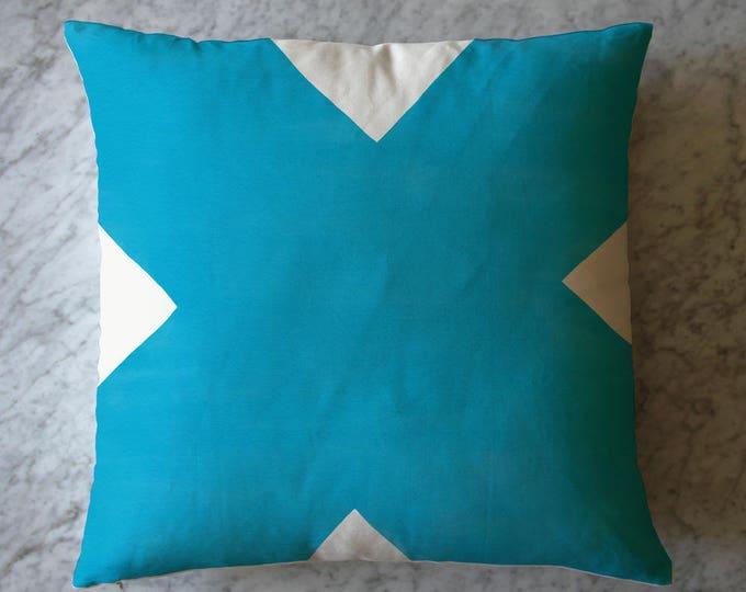 Blue Shape Pillow
