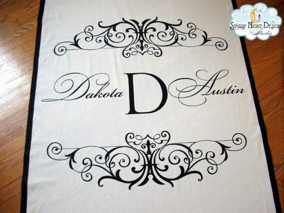 Aisle Runner Wedding Aisle Runner Custom Wedding Aisle