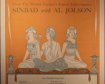 "1918 Sheet Music, ""I Hail From Cairo"""