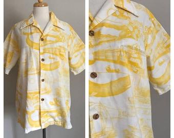 60s Waltah Clarke Men's Hawaiian Shirt