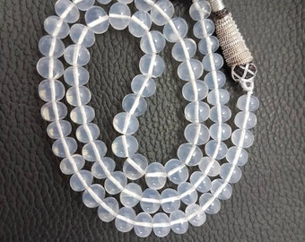 Natural Ice Quartz smooth beads,AAA high quality ice quartz beads,ice quartz smooth Rondelle beads 6-8mm size 16 inches strand