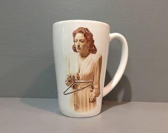 Joan Crawford Planned Parenthood Mug