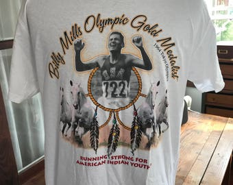 Billy Mills Olympic Gold Medal T Shirt