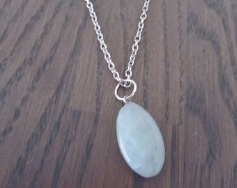 Necklace with pendant aventurine