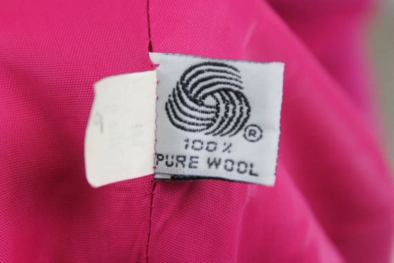 Piece Vintage Pure Pink Two 1980s Christian Size Hot 8 Dior Wool New Suit vrFtnrp