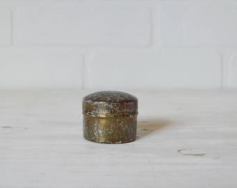 Boho Trinket Box, Boho Brass Box, Moroccan Trinket Box, Brass Trinket Box, Brass Jewelry Jar, Boho Jewelry Box, Boho Jewelry Box, Pill Box