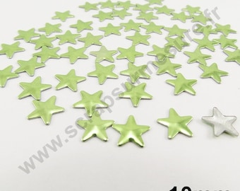 Star Thermo - Apple green - 10mm - x 50pcs