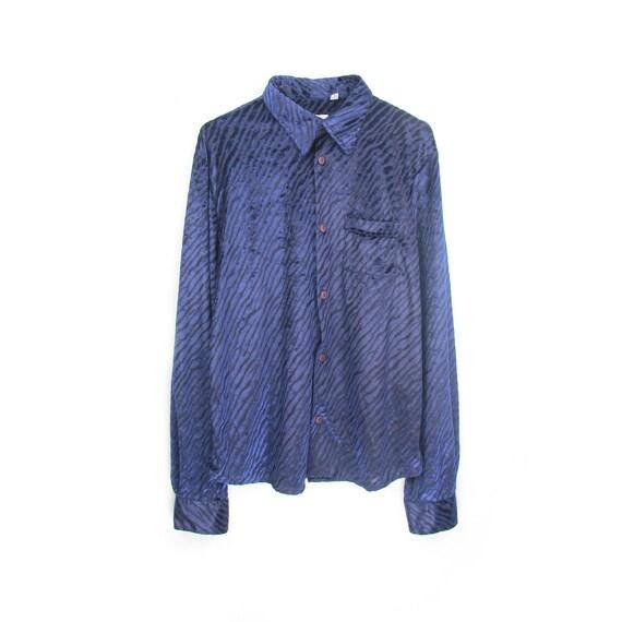 functional half zip shirt size M cotton,factory uniform, 80s/90s, half zip top, unisex, grunge,