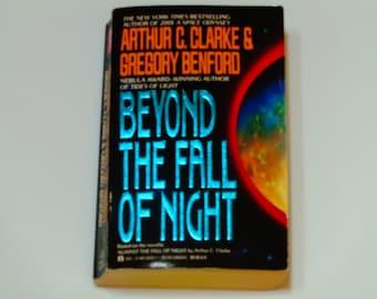 Arthur C. Clarke & Gregory Benford - Beyond the Fall of Night - Science Fiction Novel - Ace Paperback 1991 - Vintage Sci Fi Book