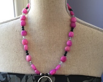 Pink quartz sparkler