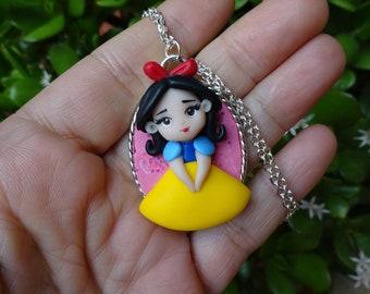 Snow White doll-Polymer clay Doll