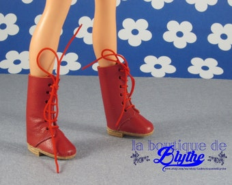 For Sindy doll, red leather boots-red boots for Sindy or Core (Tucha, Lisa Jean)