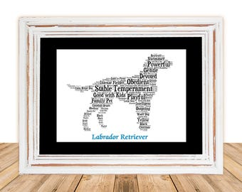 Labrador, Labrador art, Custom, Personalize, Pet Gift, Print, Dog Art, Pet Art, Pet Love, Lab