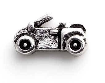 Car Floating Charms for Living Lockets, Glass Memory Lockets