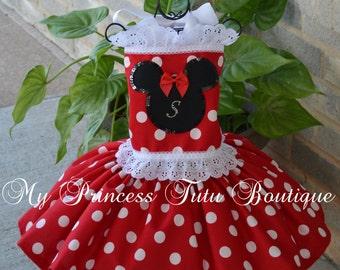 Minnie Mouse Tutu Dress Girls Minnie Mouse Dress Minnie Mouse Dress