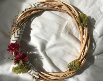 Fall Sprig Wreath