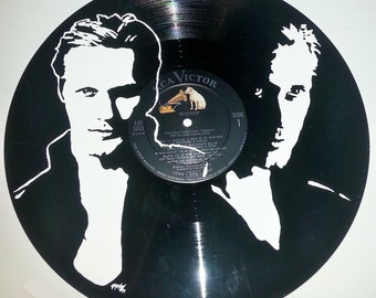 hand painted true blood eric northman hand painted vinyl record