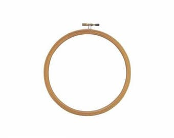 "3"" Smoother Edge Wood Embroidery Hoop F. A. Edmunds stitching frame counted cross stitch hardanger embroidery needlework"