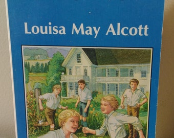 Little Men ~Louisa May Alcott Vintage Watermill Classic Young Adults Novel 1988