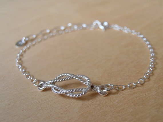 Nautical Silver Bracelet - Sterling Silver