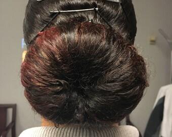 Crochet Hair Donut Bun Maker, 3 sizes Small, Medium and Large Donut Bun Maker, Crochet Hair Accessories, Bun Holders & Makers, Sock Bun
