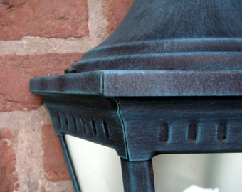 FRENCH Empire Style Outdoor Wall Light VICTORIA handcrafted by Roger Pradier Eclairage