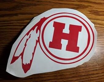 Hurricane High School Logo
