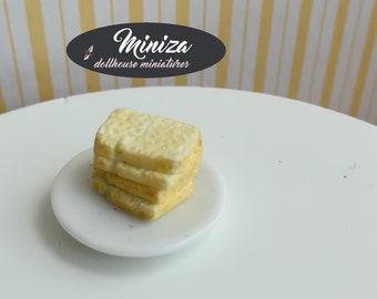Miniature toasts, 1:12 scale