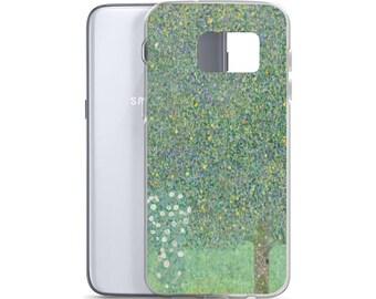 Gustav Klimt, Rosebushes under the Trees - Samsung Case