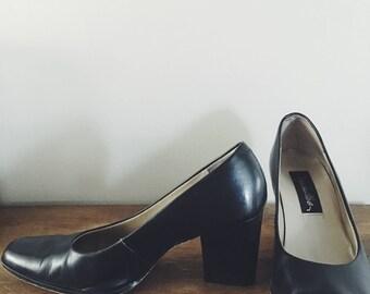Vintage Seychelles Block Heels