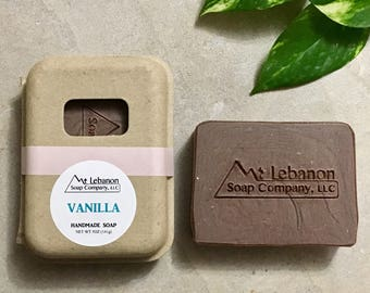 Vanilla Soap - Artisan Soap - Handmade Soap - Homemade Soap - Cold Process Soap - Bar Soap - Gift For Her -