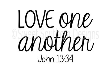 love one another svg etsy rh etsy com lds love one another clipart love each other clipart