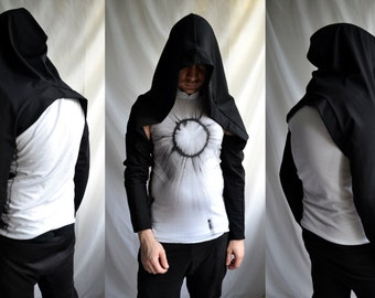 Hood w/ sleeves