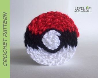 Pokésphere scarf CROCHET PATTERN || Instant Download