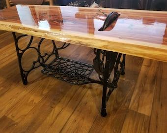 Live edge Red cedar coffee table