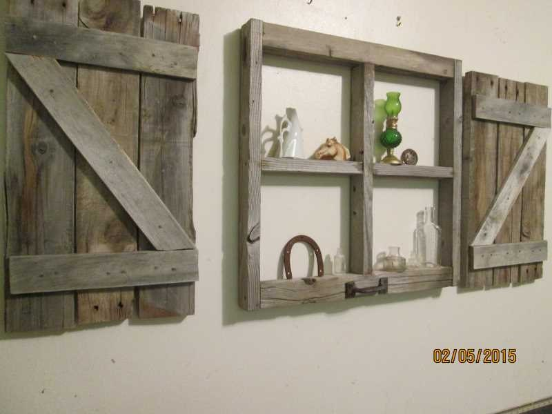 zoom - Window Frame Wall Decor