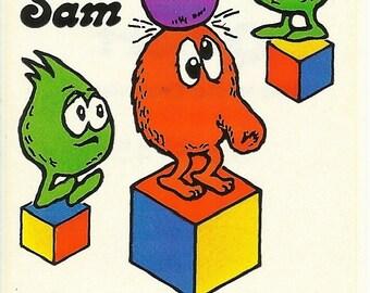 Vintage 80's Q-bert Arcade Game Sticker (Version 2)