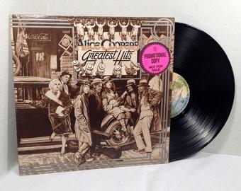 Alice Cooper's Greatest Hits vinyl record PROMO 1974 VG+/EX