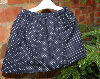 Little Girls Reversible Cotton Skirt