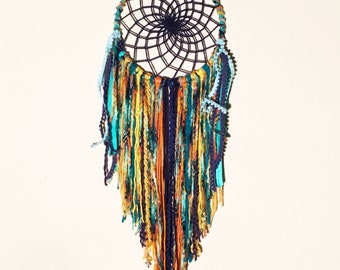Ocean fire, boys room, girls room, nursery dream catcher, customized dreamcatcher, posh pax designs, kidsroom, wall hanging, wall art
