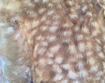 Luxe Cuddle Fawn in Cappuccino from Shannon Fabrics