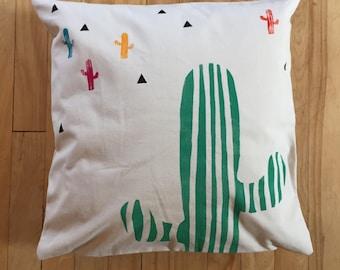 Fiesta cactus Cushion cover / cushion cover fiesta cacti / cactus