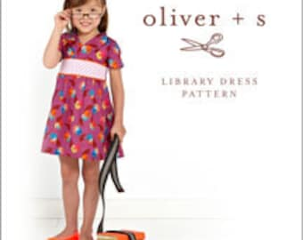 Oliver + S Library Dress pattern