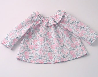Liberty Pink Felicite Baby Blouse
