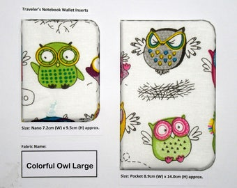 Colorful Owl Large