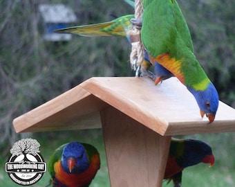 Bird Feeder - Native Birds Feeder - House Warming Gift - Garden ornament