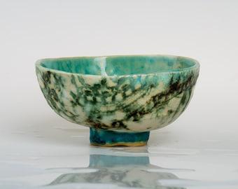 LORAMA - Porcelain bowl, unique, handmade, OOAK