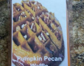 Pumpkin pecan waffle wax melt